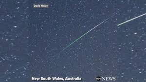 meteor showers videos at abc news video archive at abcnews com