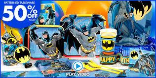 Batman Table Decorations Batman Party Supplies Batman Birthday Ideas Party City