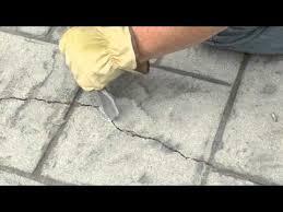 Repair Concrete Patio Cracks How To Repair Seal And Waterproof Concrete Cracks Youtube