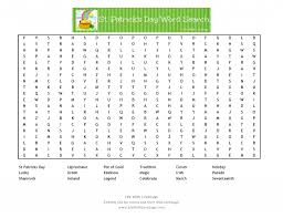 st patrick u0027s day word search printable life with lovebugs