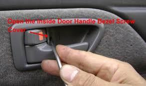 2002 Toyota Camry Interior Door Handle Toyota Camry Door Glass Glass Guide Window Regulator