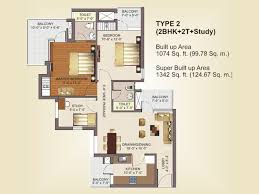 rg luxury homes noida extension rg luxury homes noida 2bhk study 1342 sq ft in rg luxury homes noida extension 1342 sq ft