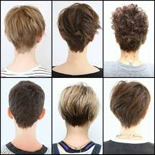 front and back views of chopped hair image result for pixie cuts front and back views pixie cuts