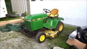 old john deere 318 parts tractor picked up youtube