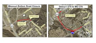 Missouri Road Map City Of Hazelwood Closes Missouri Bottom Road Indefinitely For