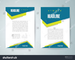 royalty free flyer brochure design template abstract 260533070