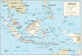 Map Of Equator Indonesia U2014 Central Intelligence Agency