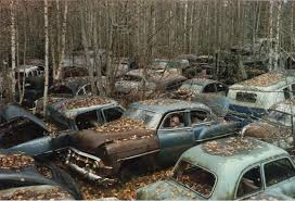 junkyard car quotes the swedish subculture hoarding more 1950s american cars than the usa