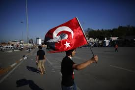 Turkey National Flag Turkey Protests On The Lighter Side Protesters Share Positive