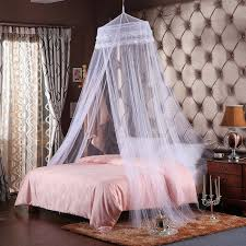 carriage bed for girls amazon com round hoop double lace princess bed canopy mosquito