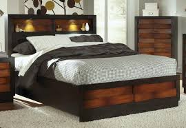 King Headboard With Storage Bed Bed With Drawers And Headboard Wooden Headboard With