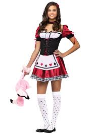 queen of hearts costume for tweens party city