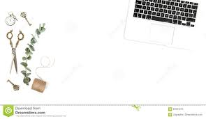 Green Desk Accessories by Creative Office Desk Accessories Laptop Minimalistic Flat Lay