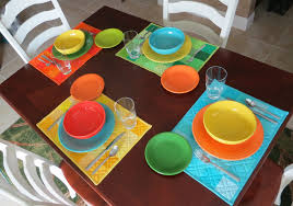 Set The Table by Flourishing Palms Fiesta Placemats