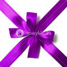 purple satin ribbon shiny purple satin ribbon on white background royalty free stock