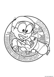 nobita in doraemon the movie 450c coloring pages printable