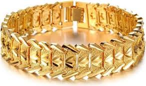 luxury men bracelet images 2015 fashion 18k gold plated individual luxury men bracelet as jpg