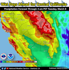 Snow Forecast Map Noaa Video California Is About To Get Hammered With Snow This