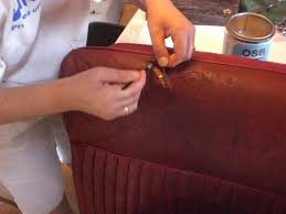 comment réparer un canapé en cuir déchiré comment reparer un canape en cuir dechire digipi co