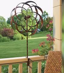 pinwheel deck rail mount wind spinner pinwheel whirligigs deck