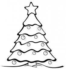 christmas tree color pages regarding residence cool coloring