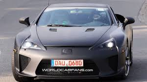 lexus lfa in india lexus to display two seat supercar and lf ch at tokyo show