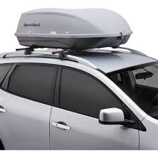 Extra Space Storage Boxes Sportrack Sr7095 Skyline Xl Roof Mount Cargo Box 18 Cubic Feet
