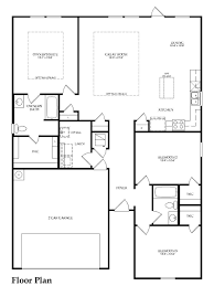 rosemont new home plan fate tx centex home builders spring first floor