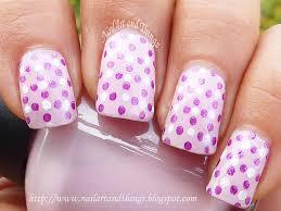 nailart and things retro polka dot nail art