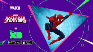get ultimate spider man on google play and itunes disney xd