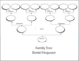 family tree sample visio chart scrapbooking history album