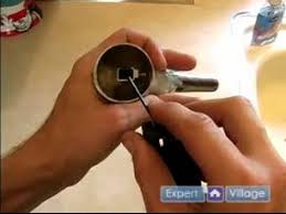 how to fix a faucet how to tighten a kitchen sink handle youtube
