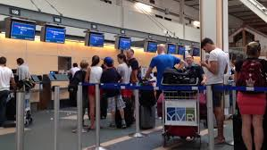 Colorado what is a travelers check images Denver colorado usa june 22 2016 travelers waiting for their jpg