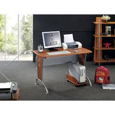 Mobile Computer Desk Computer Desk With File Cabinet Dark Honey Best Home Furniture