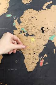 Show World Map by Deluxe World Scratch Map You Ve Room Ideas And Room