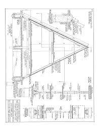 small a frame house plans free free a frame cabin plans blueprints construction documents sds plans