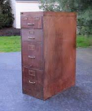 antique wood file cabinet ebay