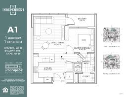 Floor Plan Com by Residences The Independent