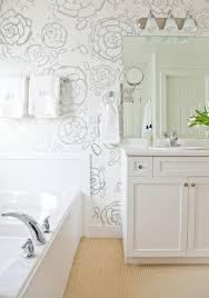 modern floral bar wallpaper design ideas