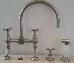 Waterworks Kitchen Faucets Waterworks Easton Classic Bridge Gooseneck Kitchen Faucet Lever