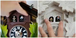 Authentic Cuckoo Clocks Cuckoo Clock Makeover Sew A Fine Seam
