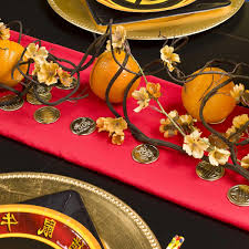 bellissimo chinese new year table setting u0026 centerpieces ideas