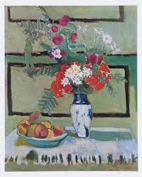 flowers and fruit still flowers and fruit print by henri matisse at