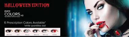 halloween cosmetic contacts recommended canadian vision