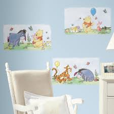 room mates deco winnie the pooh poster wall decal room mates deco winnie the pooh poster wall decal
