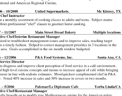 cook resume objective exles line cook resume objective