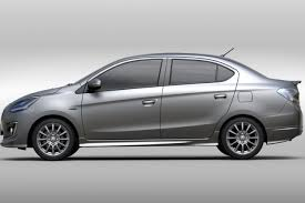 family car side view mitsubishi mirage g4 sedan likely coming to us market jim