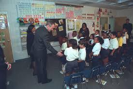 George W Bush Birth File George W Bush Emma E Booker Elementary 001 Hi J0202 1