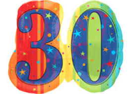 30th birthday balloons delivered 30th birthday balloons helium balloons perth 30th balloon