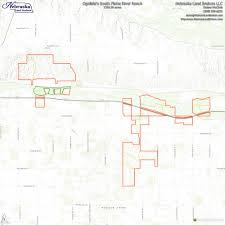 Platte River Map Ogallala U0027s South Platte River Ranch U2014 Nebraska Land Brokers